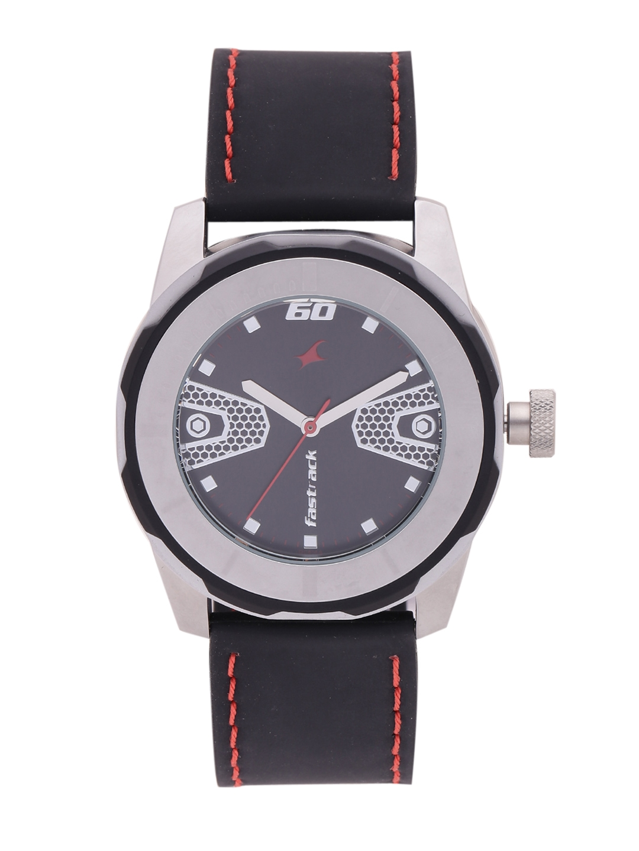 Fastrack Men Black dial Watch 3099SP04