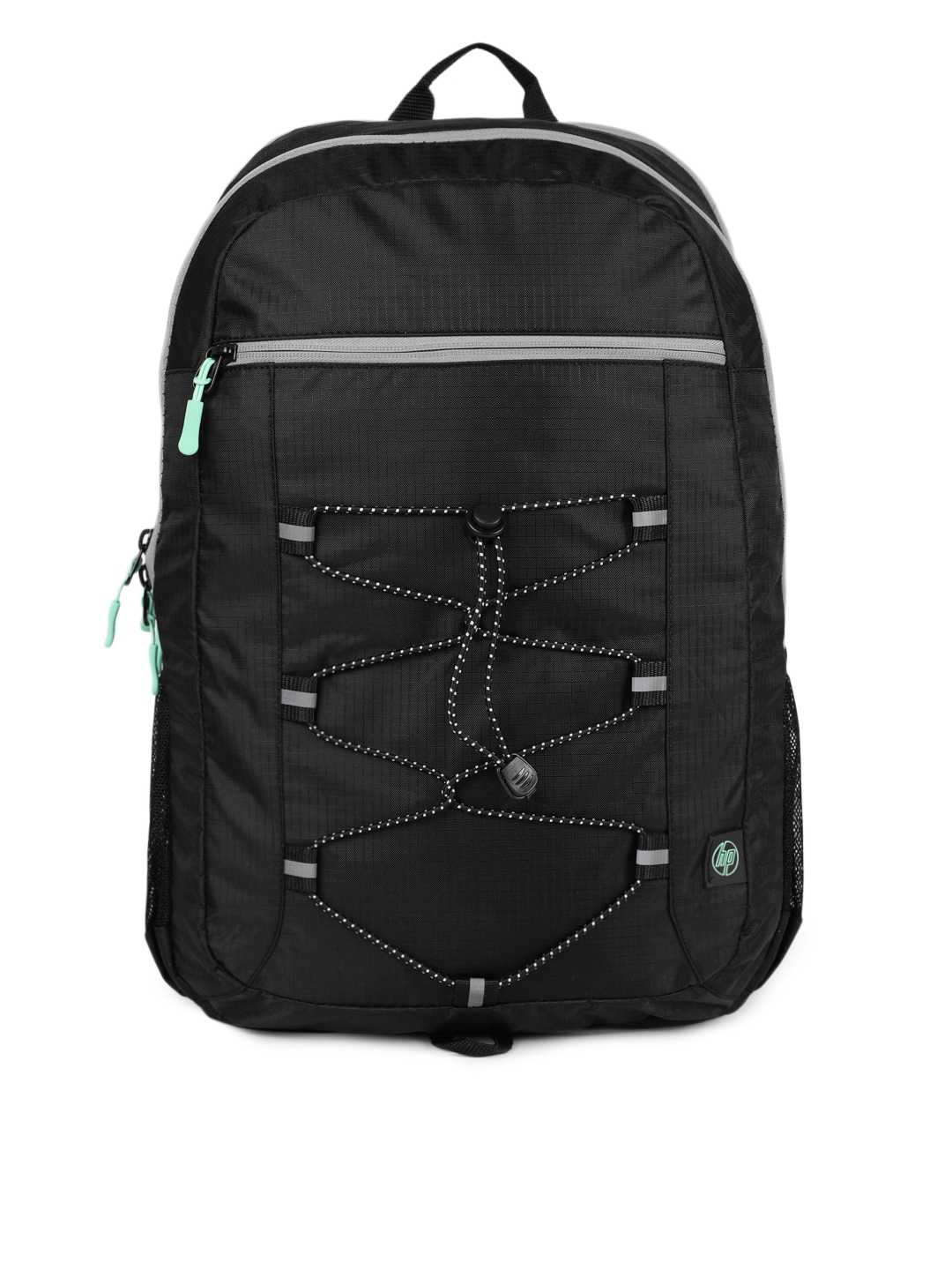 HP Unisex Black Solid 15.6 Active Laptop Backpack