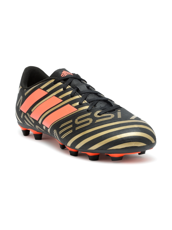 competitive price 1b311 b5e39 ADIDAS Men Black NEMEZIZ MESSI 17.4 FXG Printed Football Shoes