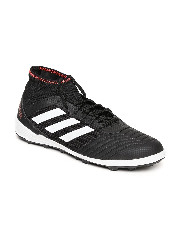 new product cac96 40f2b ADIDAS Men Black Predator Tango 18.3 TF Football Shoes