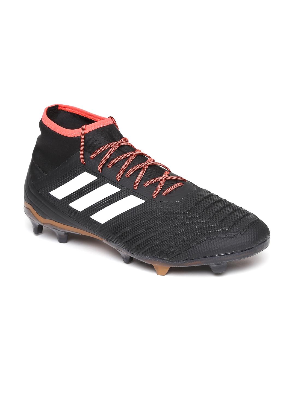 Buy ADIDAS Men Black Predator 18.2 FG Football Shoes - Sports Shoes ... 3f10e712147
