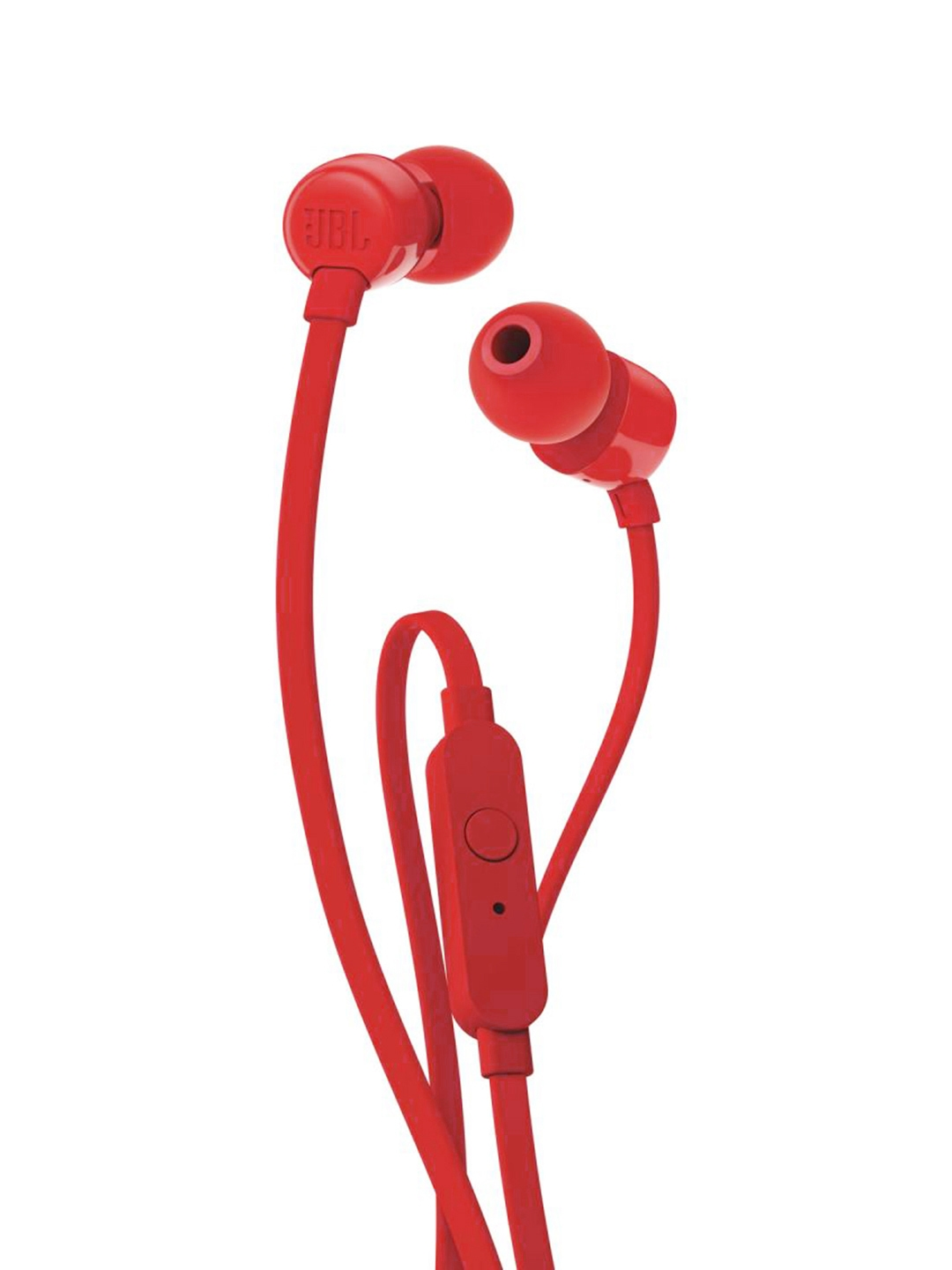 JBL T110 Red Unisex Wired In Ear Headphones
