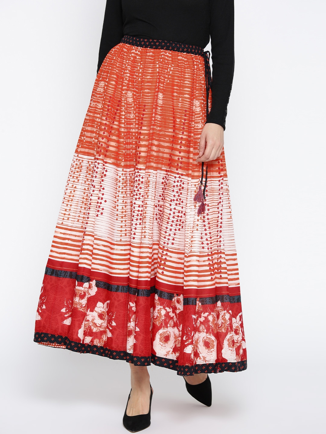 To acquire How to orange wear skirt picture trends