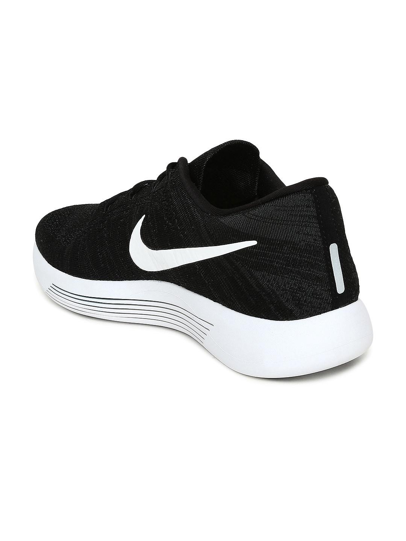 18e9c8730f448 Buy Nike Men Black LUNAREPIC LOW FLYKNIT Running Shoes - Sports ...