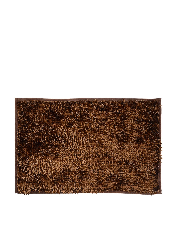 Buy Cortina Brown Patterned Rectangular Bath Rug Bath Rugs For
