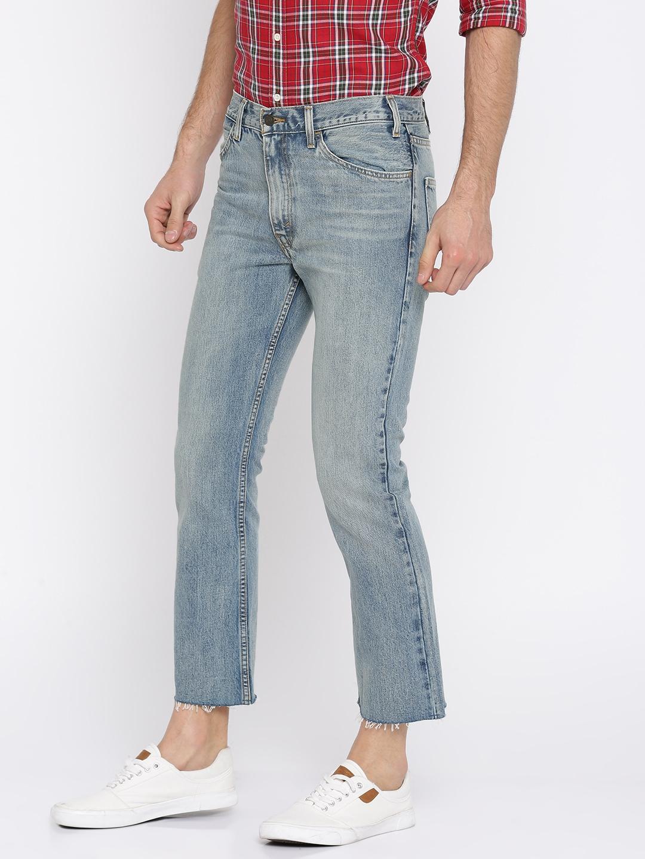 9c67b8ecab6 Buy Levis Men Blue 517 Bootcut High Rise Clean Look Jeans - Jeans ...