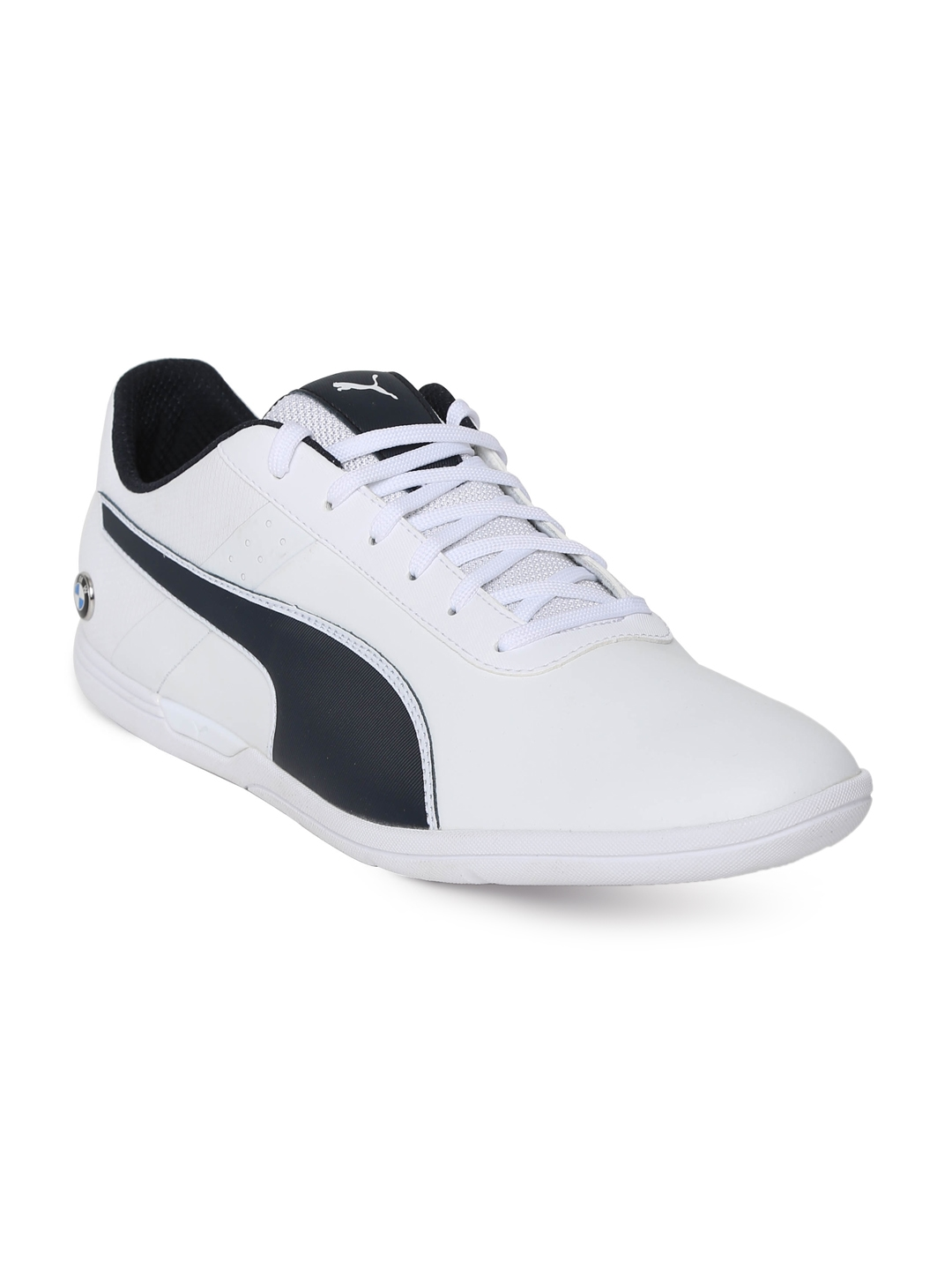 d8655db0c05 Buy Puma Men White BMW MS MCH Lo Sneakers - Casual Shoes for Men ...