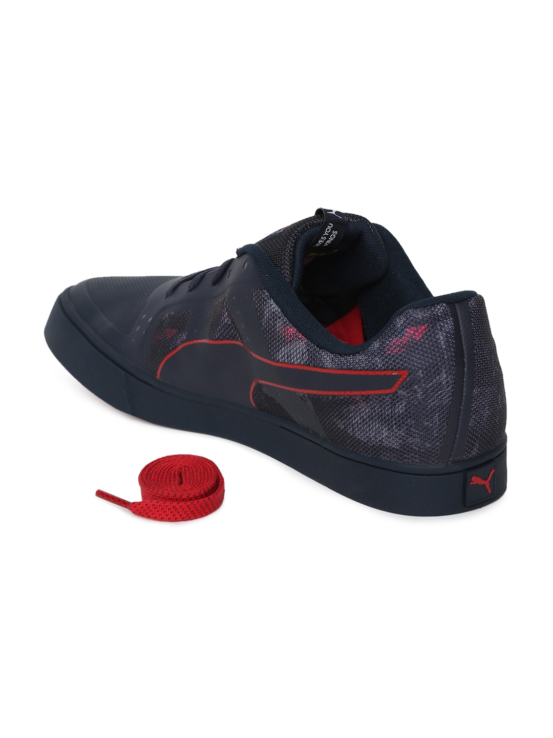 1f92c3a8630a Buy Puma Unisex Navy RBR Wings Vulc Team Sneakers - Casual Shoes for ...