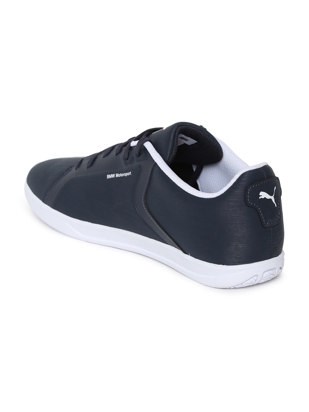 4d08cd58b8c Buy Puma Men Navy Blue BMW MS Court Team Sneakers - Casual Shoes for ...