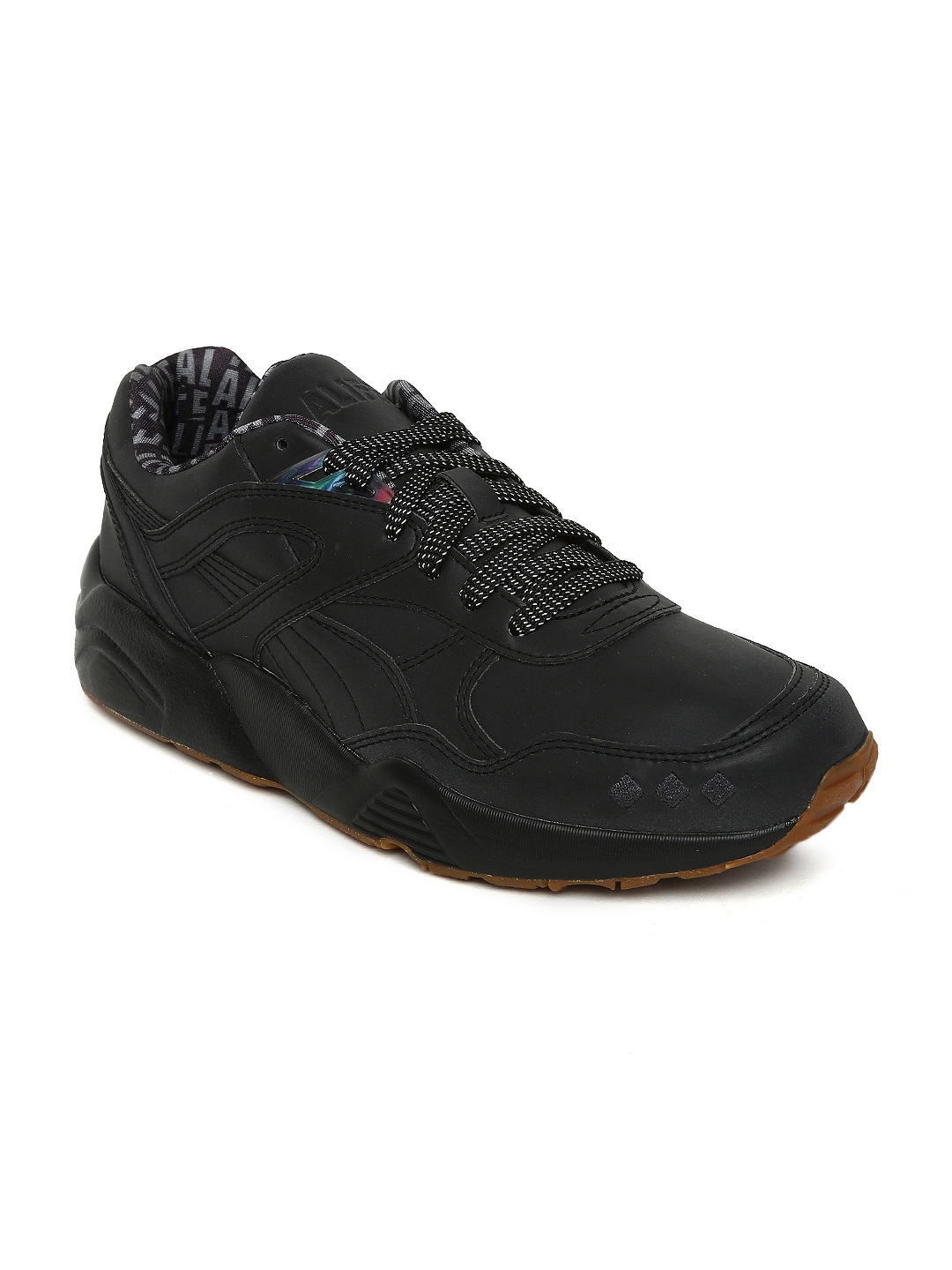 Buy Puma Unisex Black R698 X Alife Reflective Sneakers - Casual ... 75e8dc9428