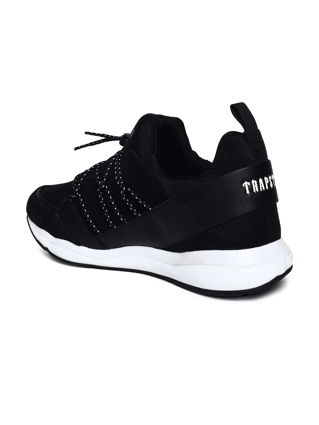 b0874e40fbe1 Buy Puma Men Black Cell Bubble Trapstar Leather Sneakers - Casual ...