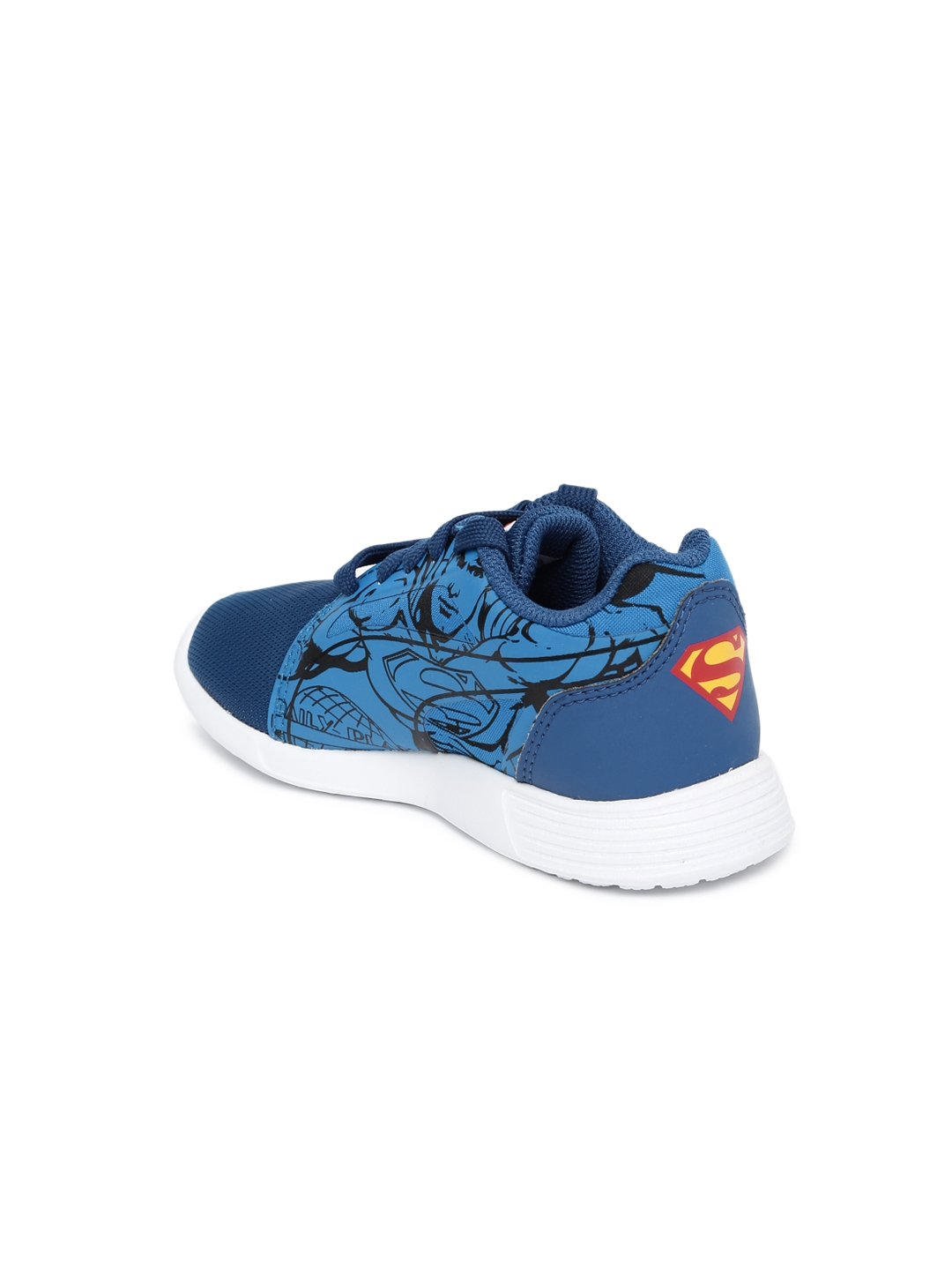 Puma Kids Blue Printed Superman ST Trainer Evo PS Limoges Sneakers 36a6887a4