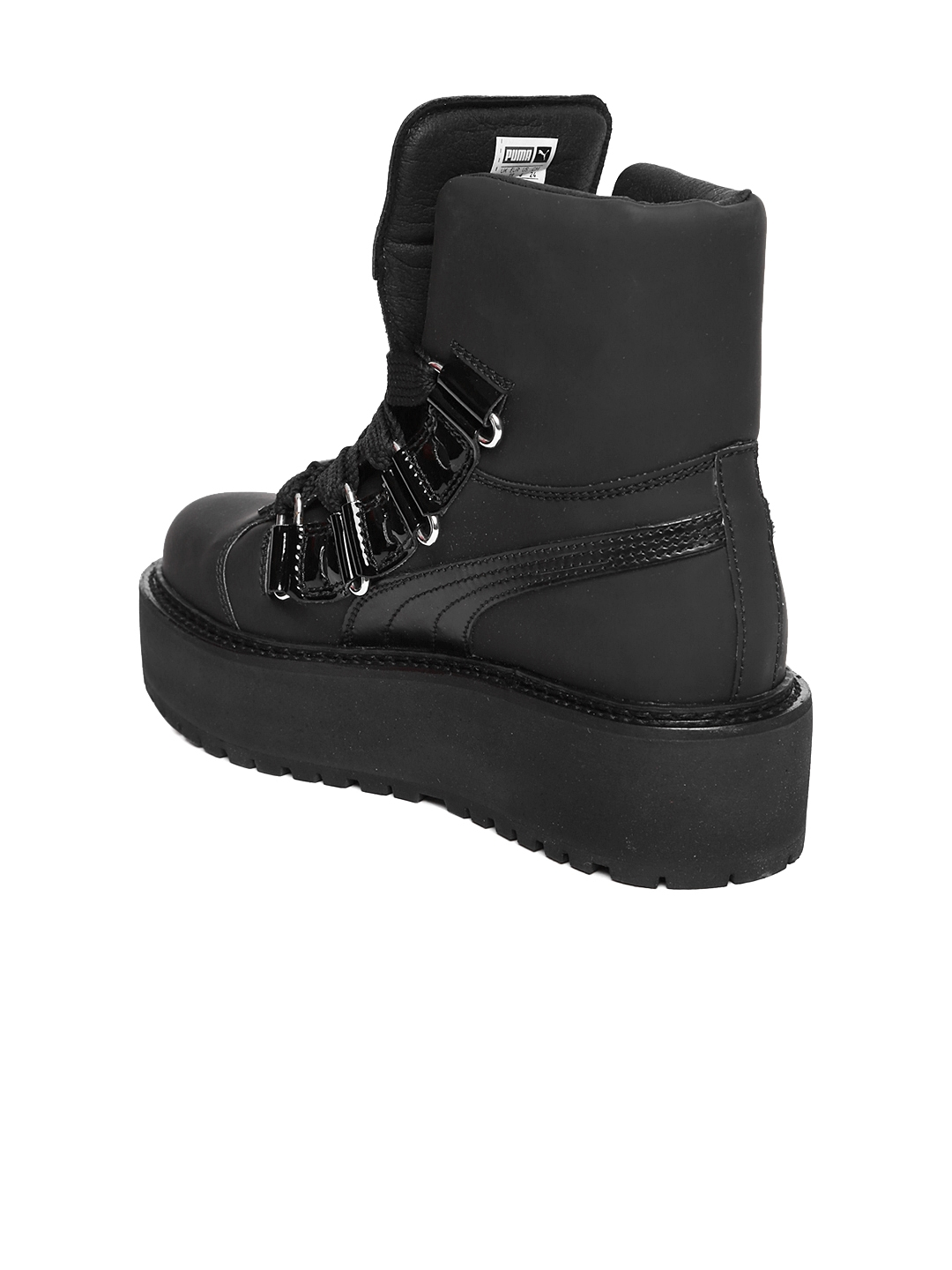 Buy Puma Unisex Black Flat Boots - Casual Shoes for Unisex 2268770 ... cd66f6fee52