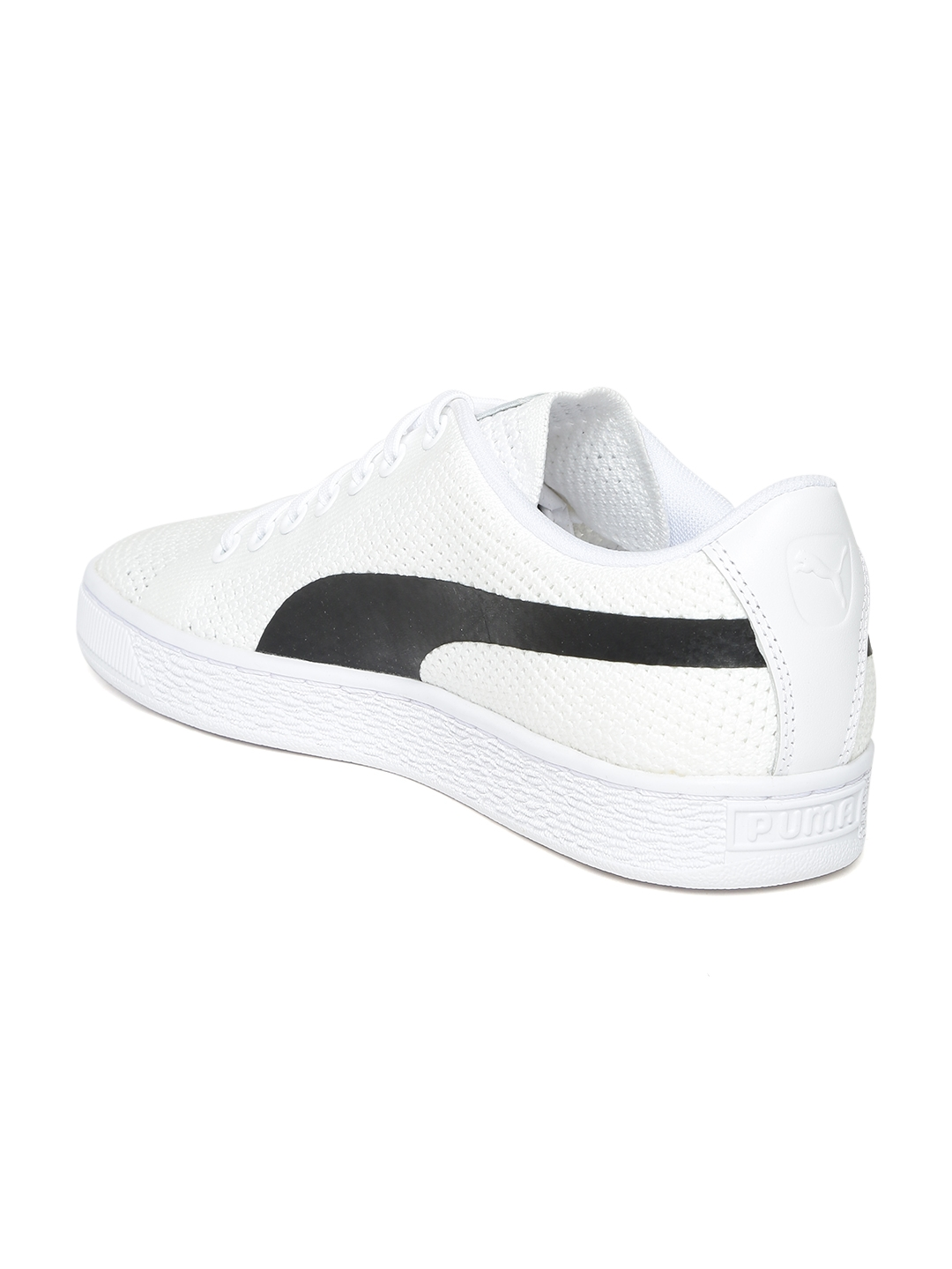 ddd91524adc Buy Puma Unisex White Basket Classic EvoKNIT Sneakers - Casual Shoes ...