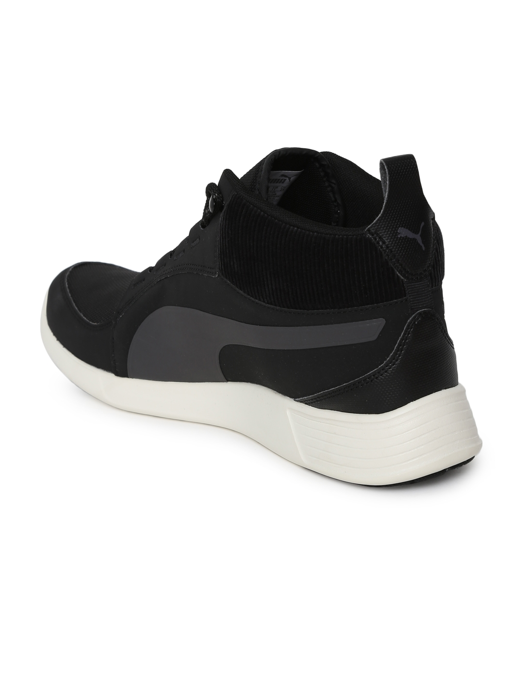 85c8a646ec6 Puma Men Black Solid ST Trainer Evo Demi v2 Corduroy IDP Sneakers