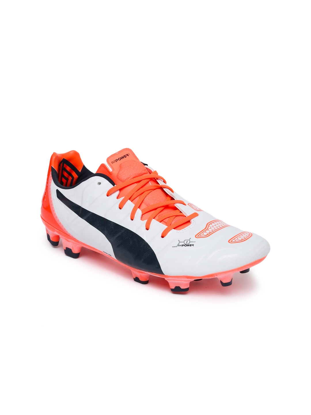 68f5f5c6563310 Buy Puma Men White EvoPOWER 1.2 Football Shoes - Sports Shoes for ...