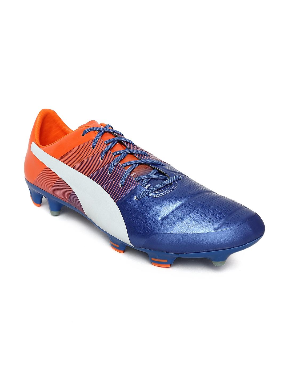 5028601b8f4681 Buy Puma Men Blue EvoPOWER 1.3 FG Football Shoes - Sports Shoes for ...