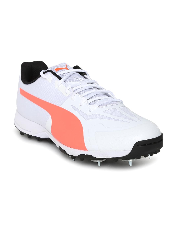 58a38b13ffae06 Buy Puma Men White EvoSPEED 360.1 Cricket Shoes - Sports Shoes for ...