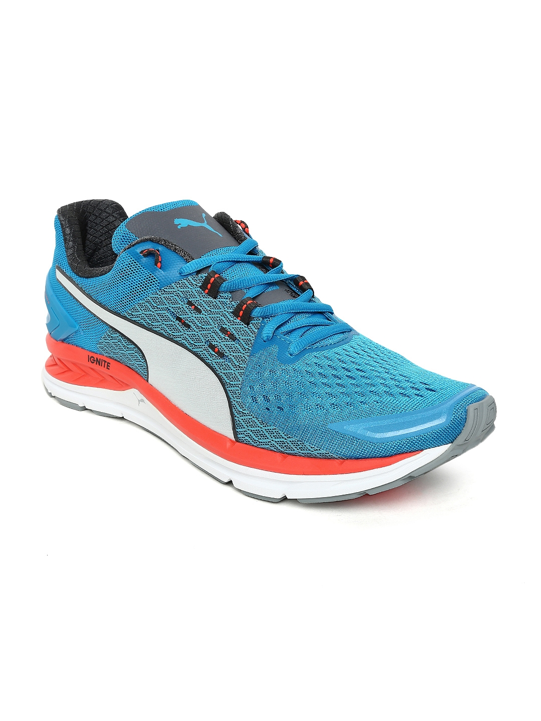 Buy Puma Men Blue Speed 1000 S IGNITE Running Shoes - Sports Shoes ... aa5192e4a