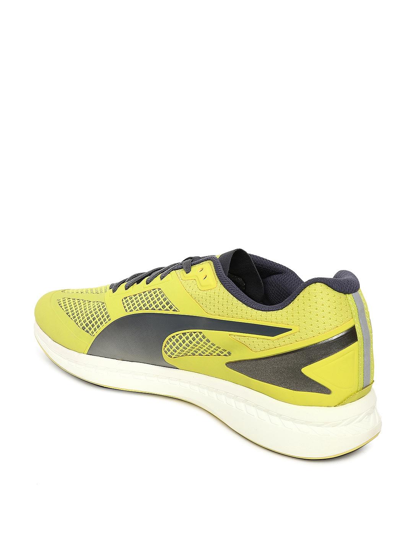 9cd2ef56a072 Buy Puma Men Yellow IGNITE Mesh Running Shoes - Sports Shoes for Men ...