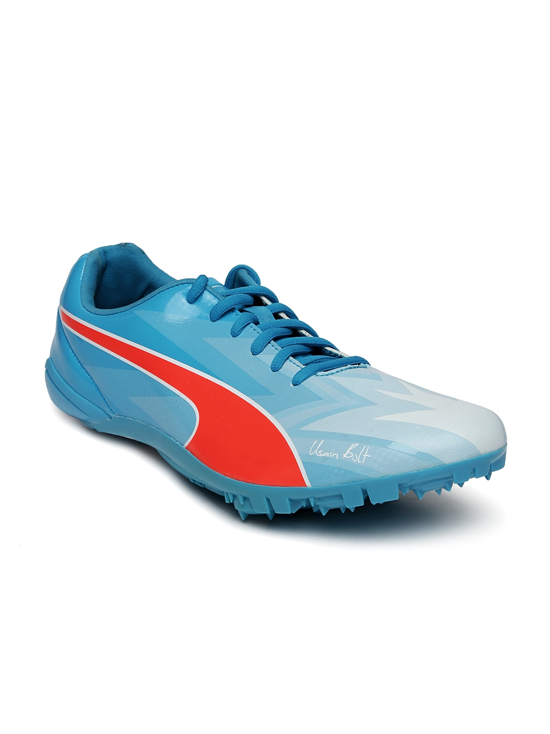 1dc47b217ea2a6 Buy Puma Unisex Blue Bolt EvoSPEED Electric V3 Running Shoes ...