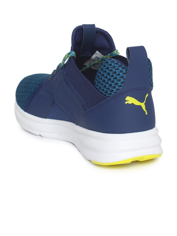 c96de107ac6 Buy Puma Men Blue Enzo Terrain Mykonos Running Shoes - Sports Shoes ...