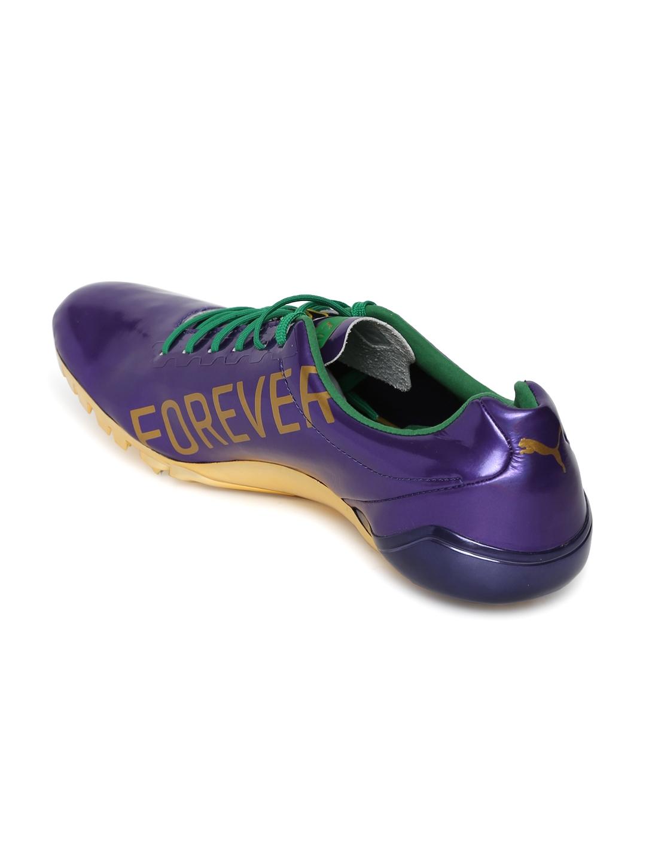 2605dff05596 Buy Puma Unisex Purple Bolt EvoSPEED Electric Legacy Running Shoes ...