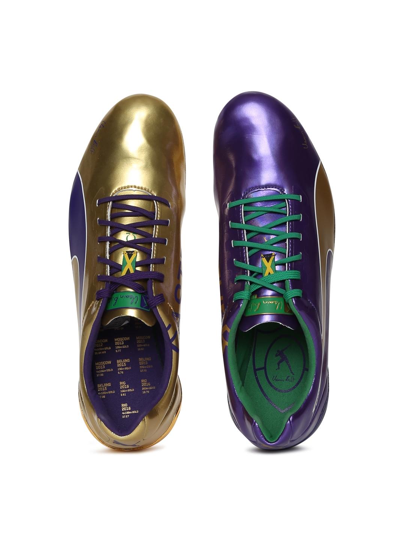 3a40588769d Buy Puma Unisex Purple Bolt EvoSPEED Electric Legacy Running Shoes ...