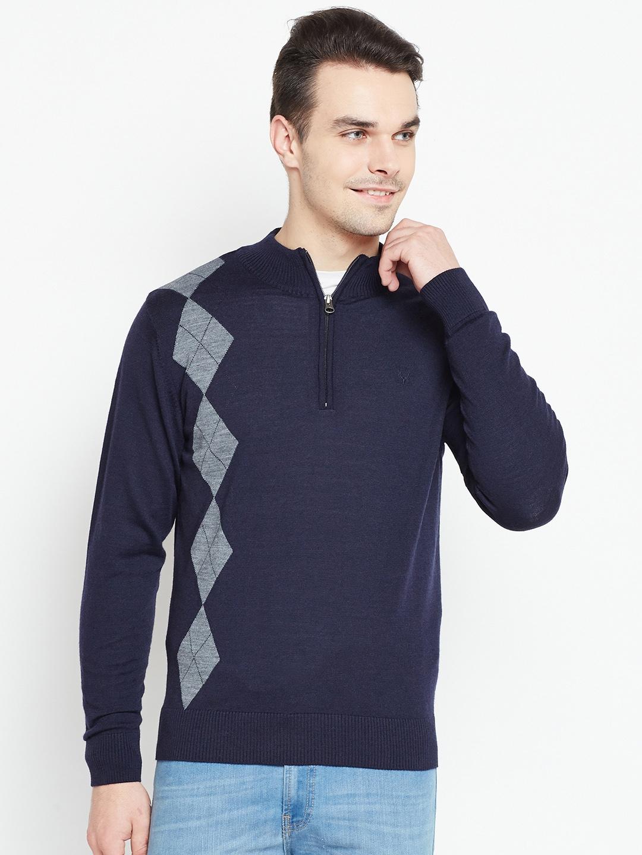 Allen Solly  Self-Design Sweater