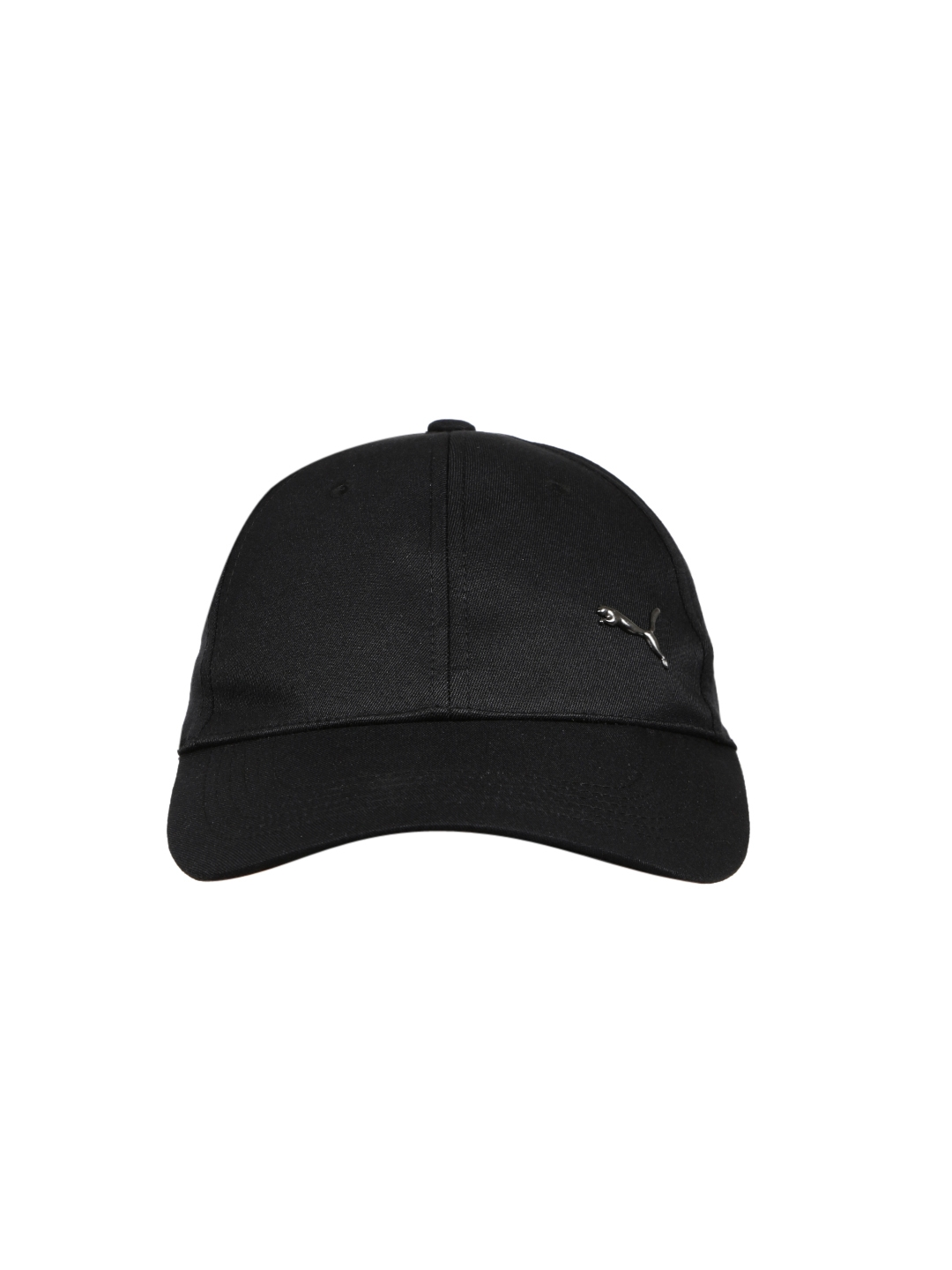 baccfd8eafb Buy Puma Unisex Black Solid Metal Cat Baseball Cap - Caps for Unisex ...