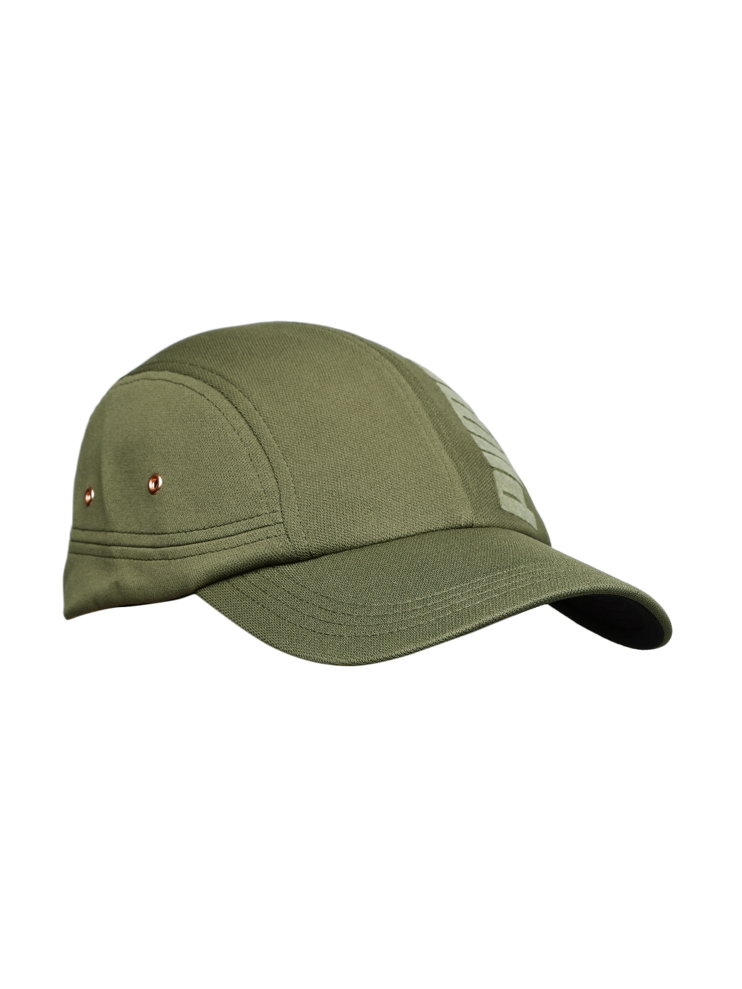 9959645c6 Buy Puma Women Olive Green Solid Baseball Cap - Caps for Women ...