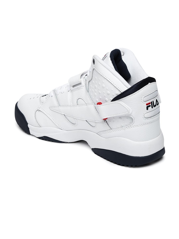 712fb7b662fc Buy FILA Men White Mid Top SPOILER Sneakers - Casual Shoes for Men ...