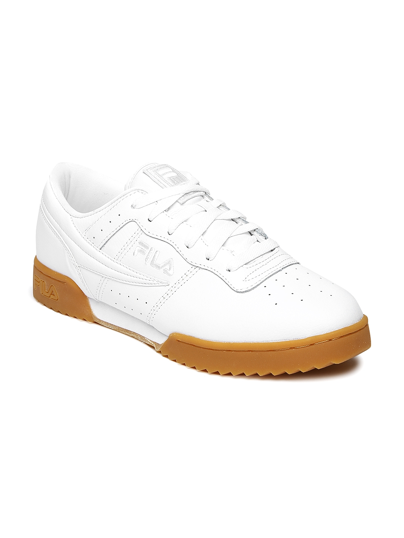 57501382797ce Buy FILA Men White Original Fitness Ripple Training Shoes - Sports ...
