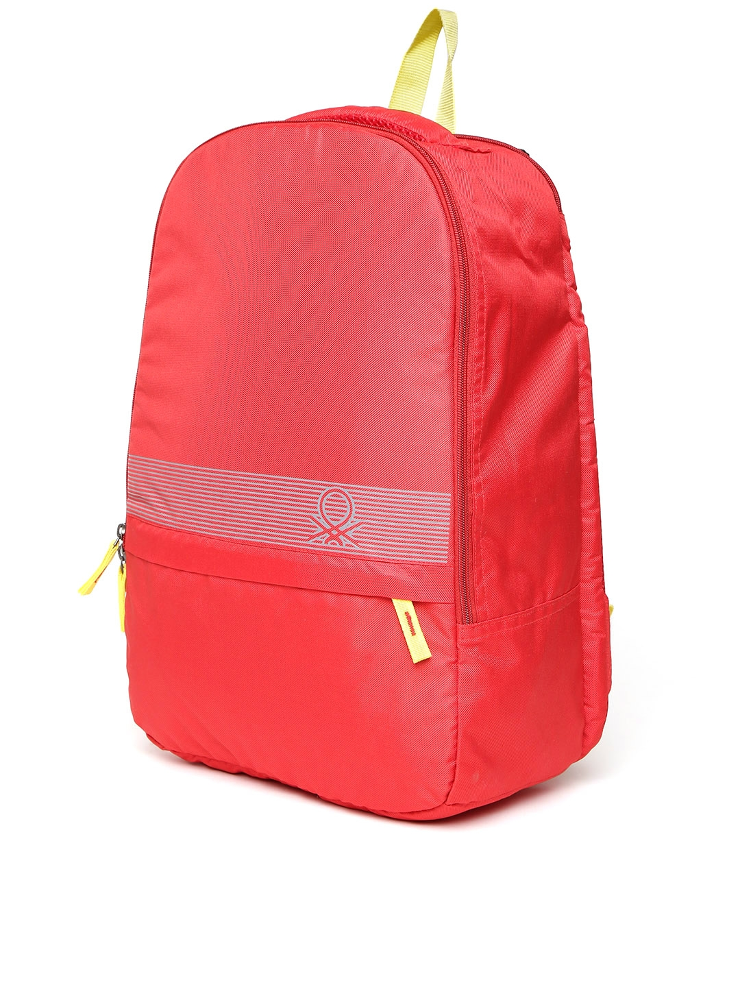 77eaf26e65 Buy United Colors Of Benetton Men Red Printed Detail Backpack ...