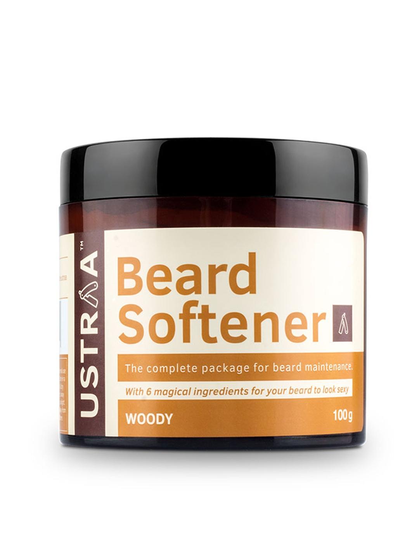 Ustraa by Happily Unmarried Woody Beard Softener 100 g Ustraa by Happily Unmarried Beard   Moustache Care