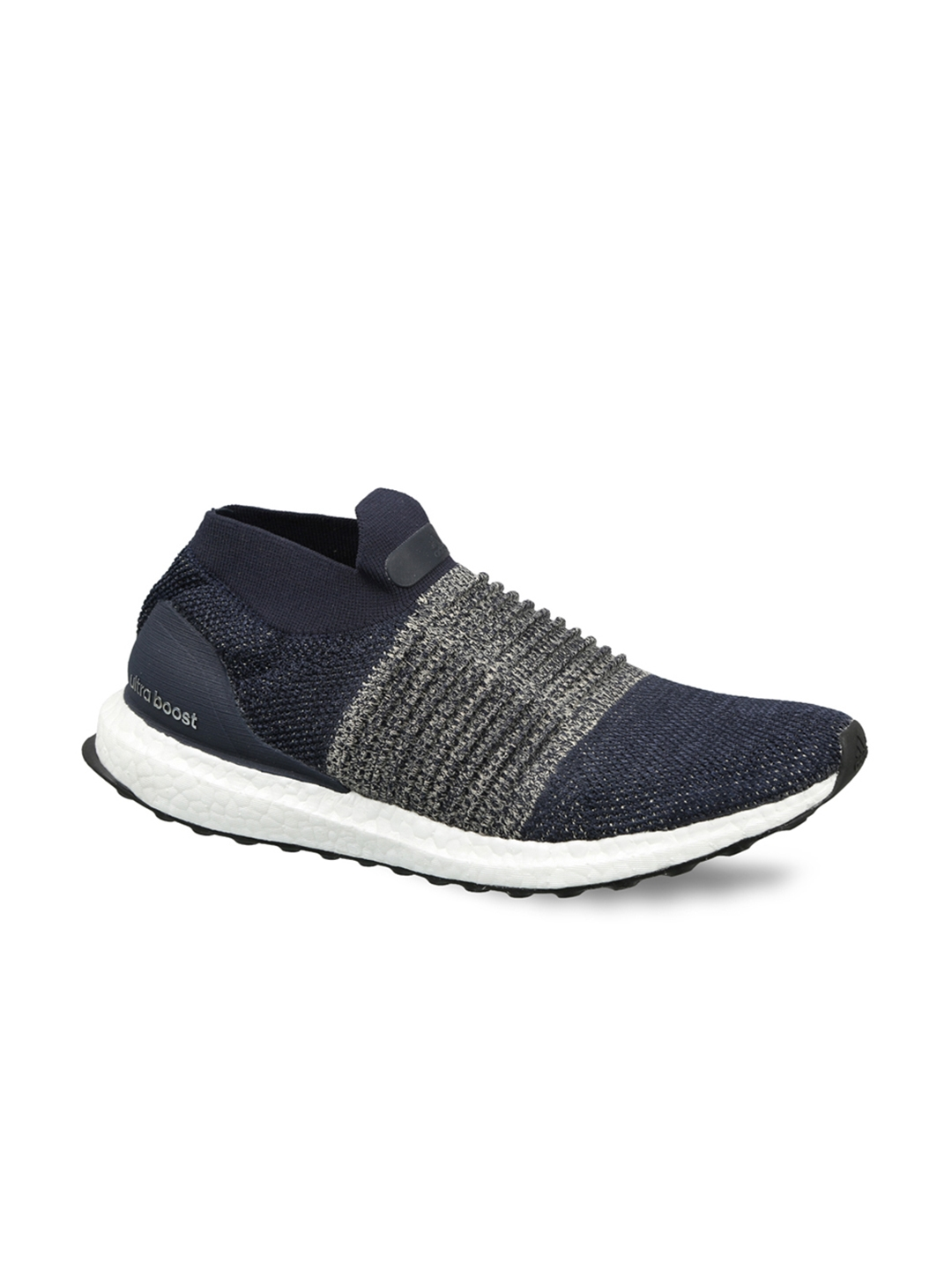 2352b8fda Buy ADIDAS Men Navy Blue ULTRABOOST LACELESS Running Shoes - Sports ...