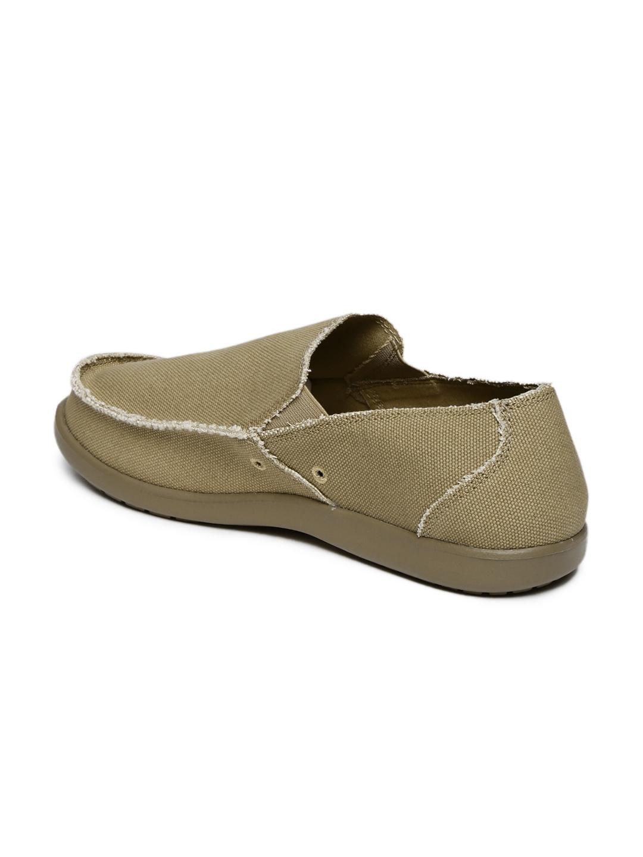 d63ff52373c Buy Crocs Men Khaki Santa Cruz Loafers - Casual Shoes for Men ...