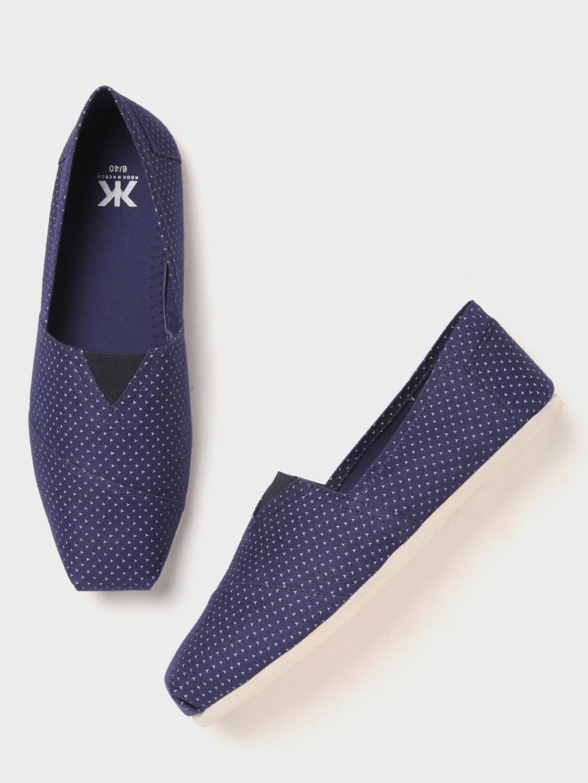 ca359ad14ee Buy Kook N Keech Men Blue Printed Slip On Sneakers - Casual Shoes ...