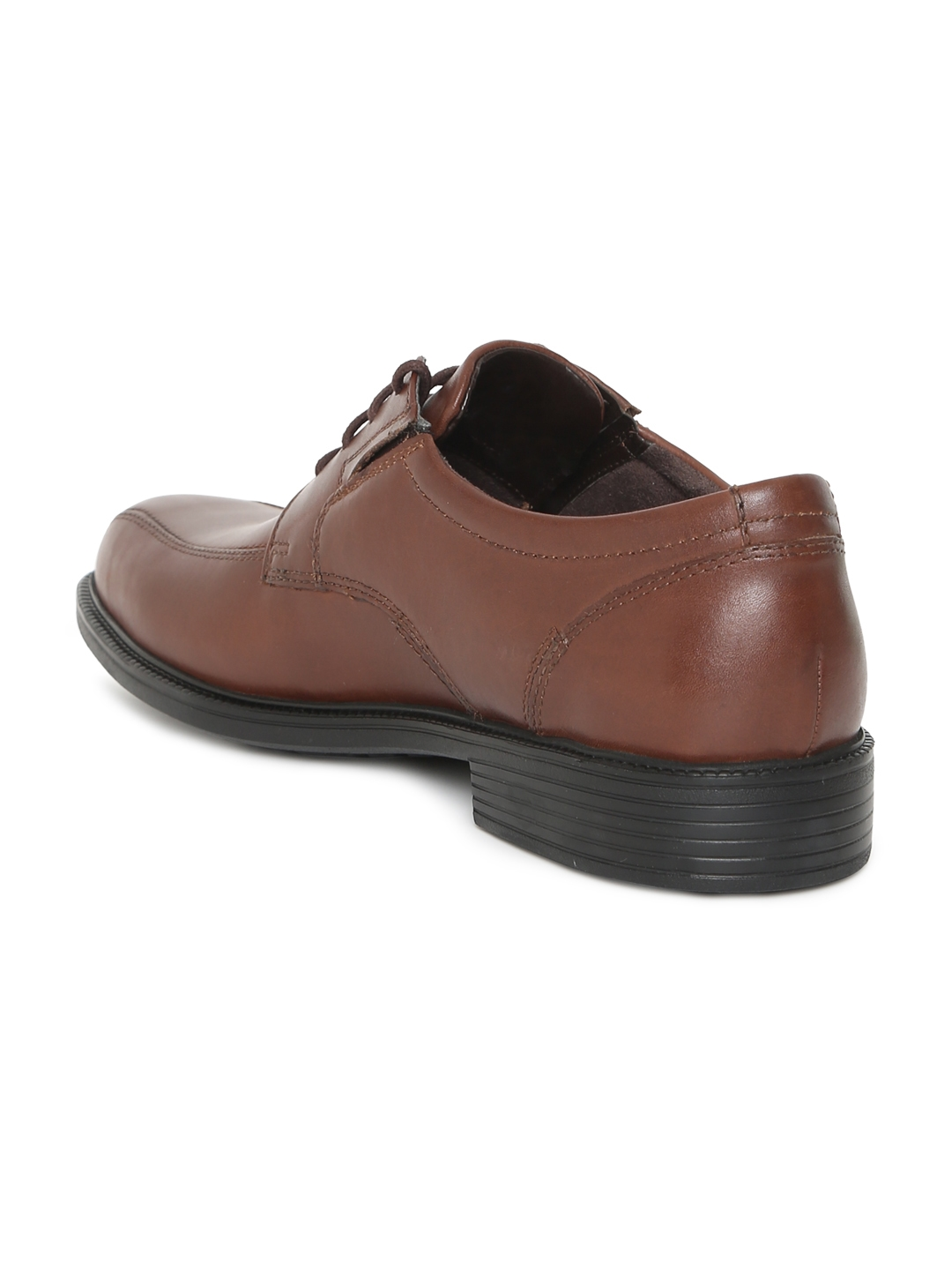 Buy Clarks Men Brown Leather Formal Bardwell Walk Derby Shoes ... 247172ca85d5