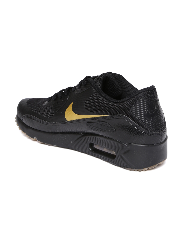 hot sale online 2f534 848a9 Nike Men Black AIR MAX 90 ULTRA 2.0 ESSENTIAL Sneakers