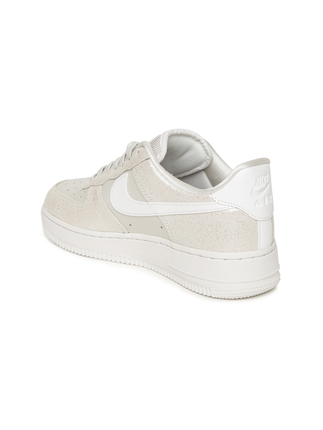 e888686387 Buy Nike Women Off White AIR FORCE 1 '07 PRM Leather Sneakers ...