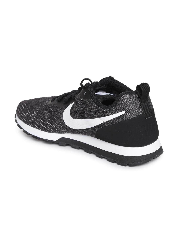 aaf286574fde Buy Nike Men Charcoal MD RUNNER 2 ENG MESH Sneakers - Casual Shoes ...