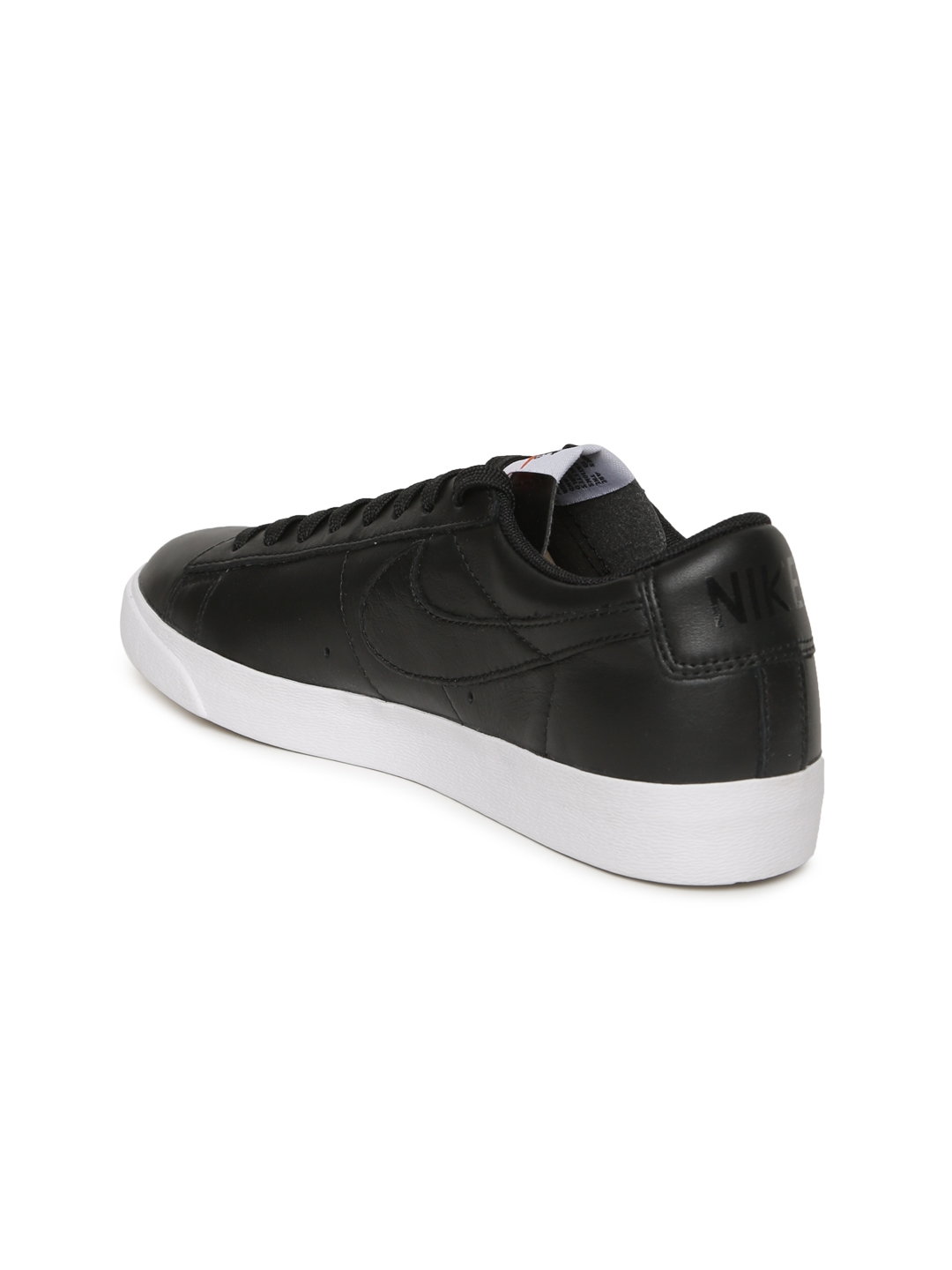 626dd2b2e048f Buy Nike Women Black BLAZER LOW Leather Sneakers - Casual Shoes for ...