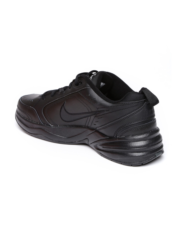 f105d5931347c Buy Nike Men Black AIR MONARCH IV Training Shoes - Sports Shoes for ...