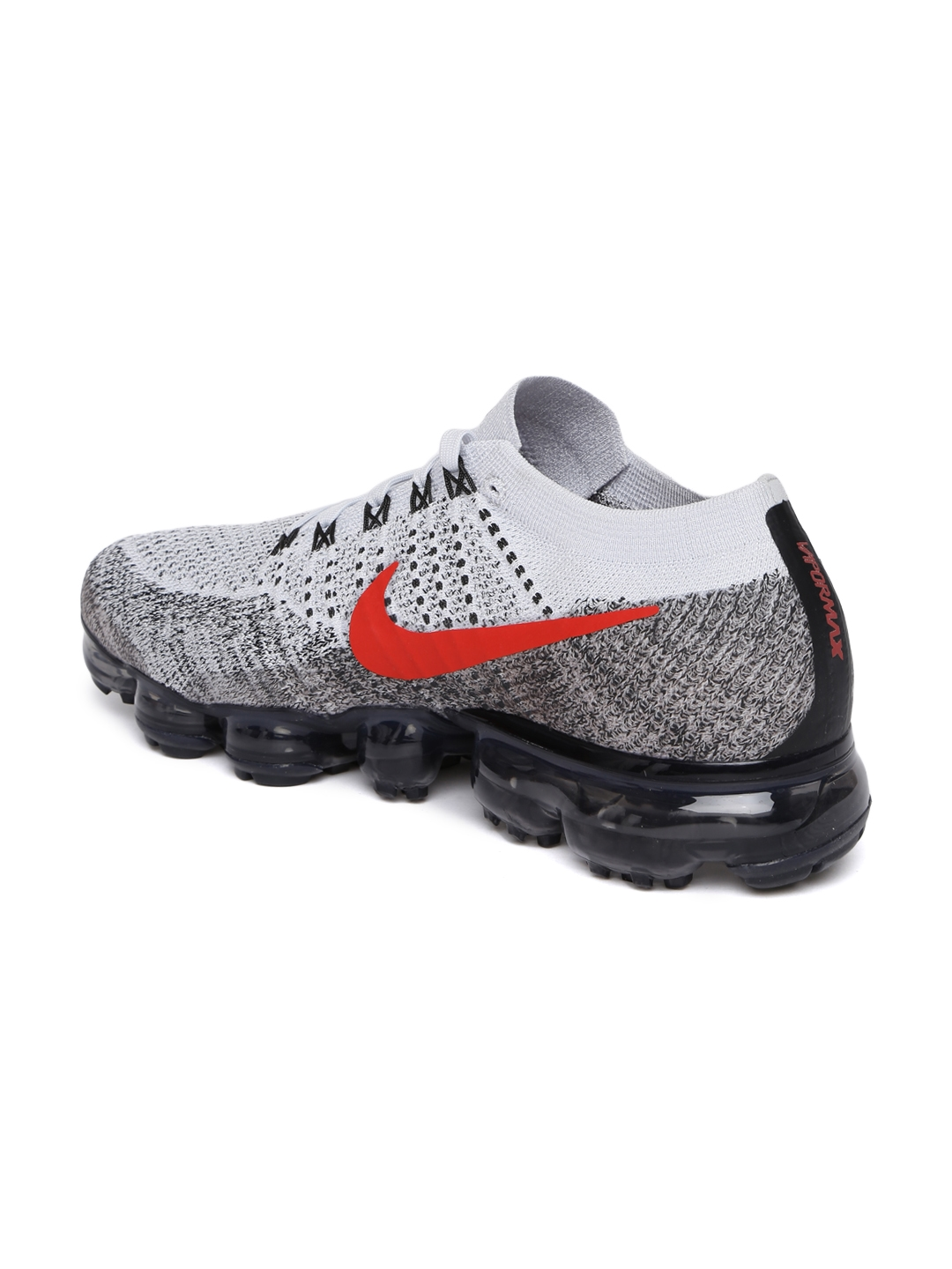 2414651cc4c Buy Nike Men Grey AIR VAPORMAX FLYKNIT Running Shoes - Sports Shoes ...