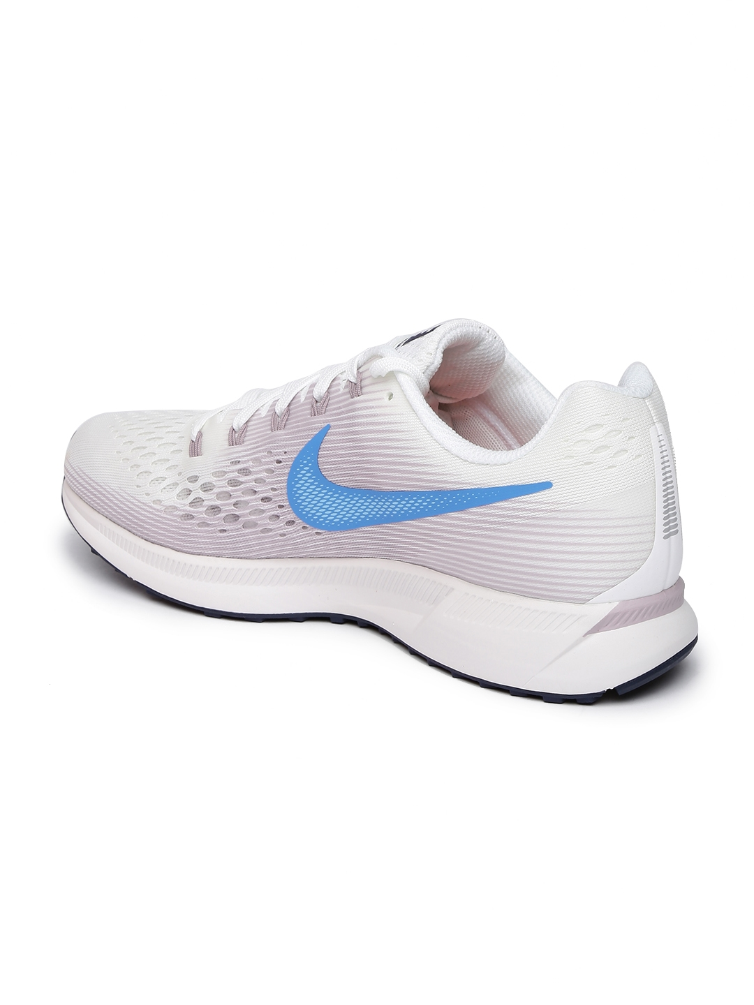 fdcf368e91af Buy Nike Women White   Lavender AIR ZOOM PEGASUS 34 Running Shoes ...