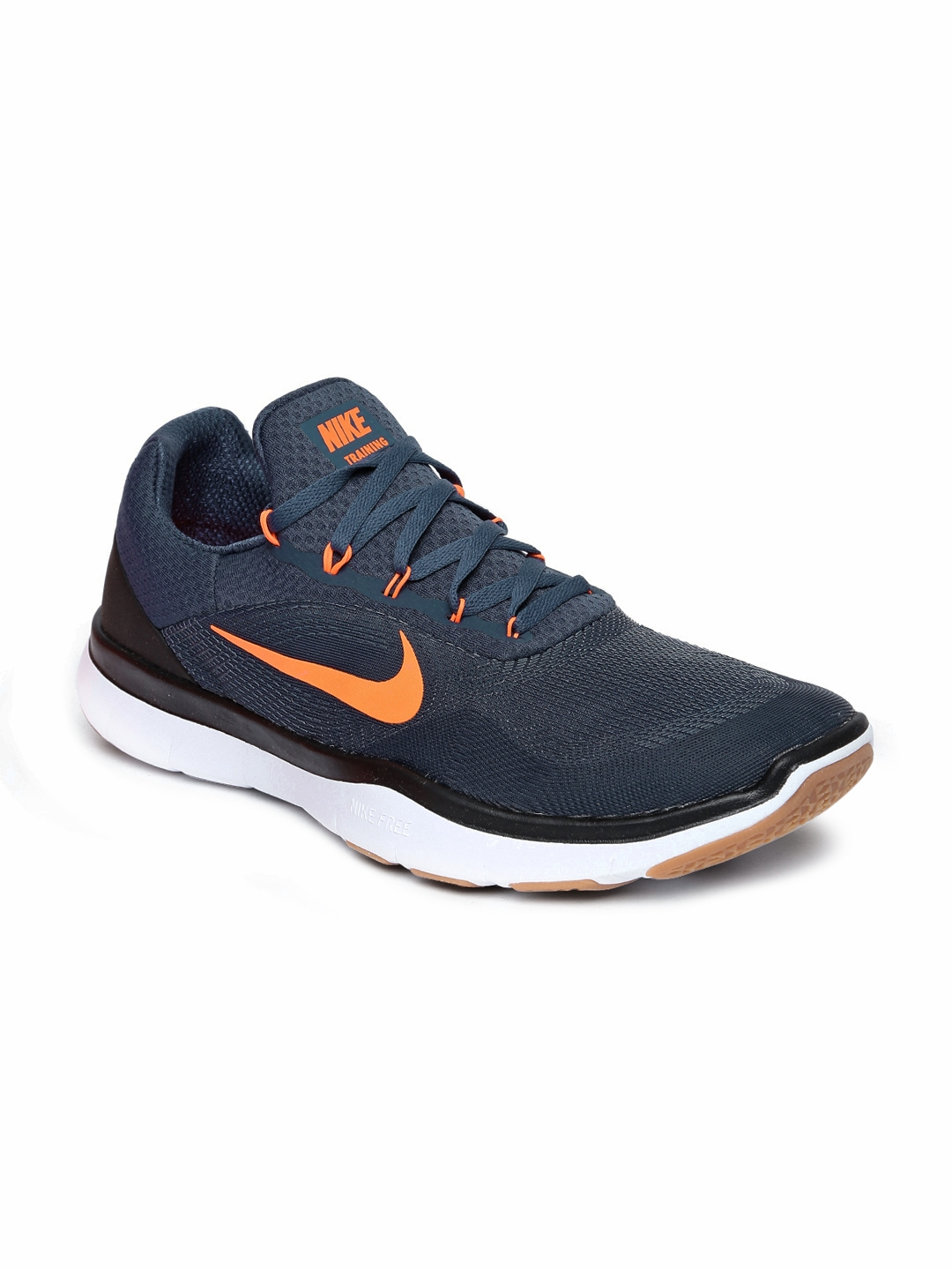 a280dd6d0319c Buy Nike Men Navy Blue FREE TRAINER V7 Training Shoes - Sports Shoes ...