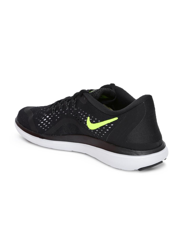 74e84c5dfda2 Buy Nike Men Black FLEX 2017 RN Running Shoes - Sports Shoes for Men ...