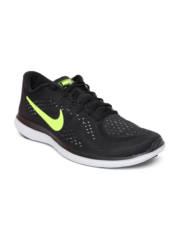 566fb25604de Buy Nike Men Black FLEX 2017 RN Running Shoes - Sports Shoes for Men ...