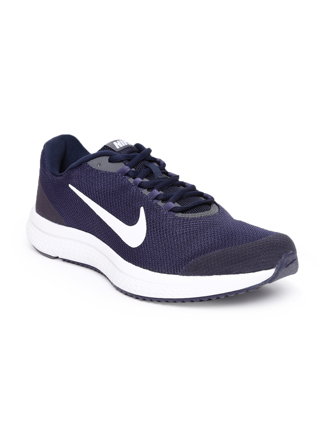 6dc7c5d64cdb Buy Nike Men Navy Blue RUNALLDAY Running Shoes - Sports Shoes for ...